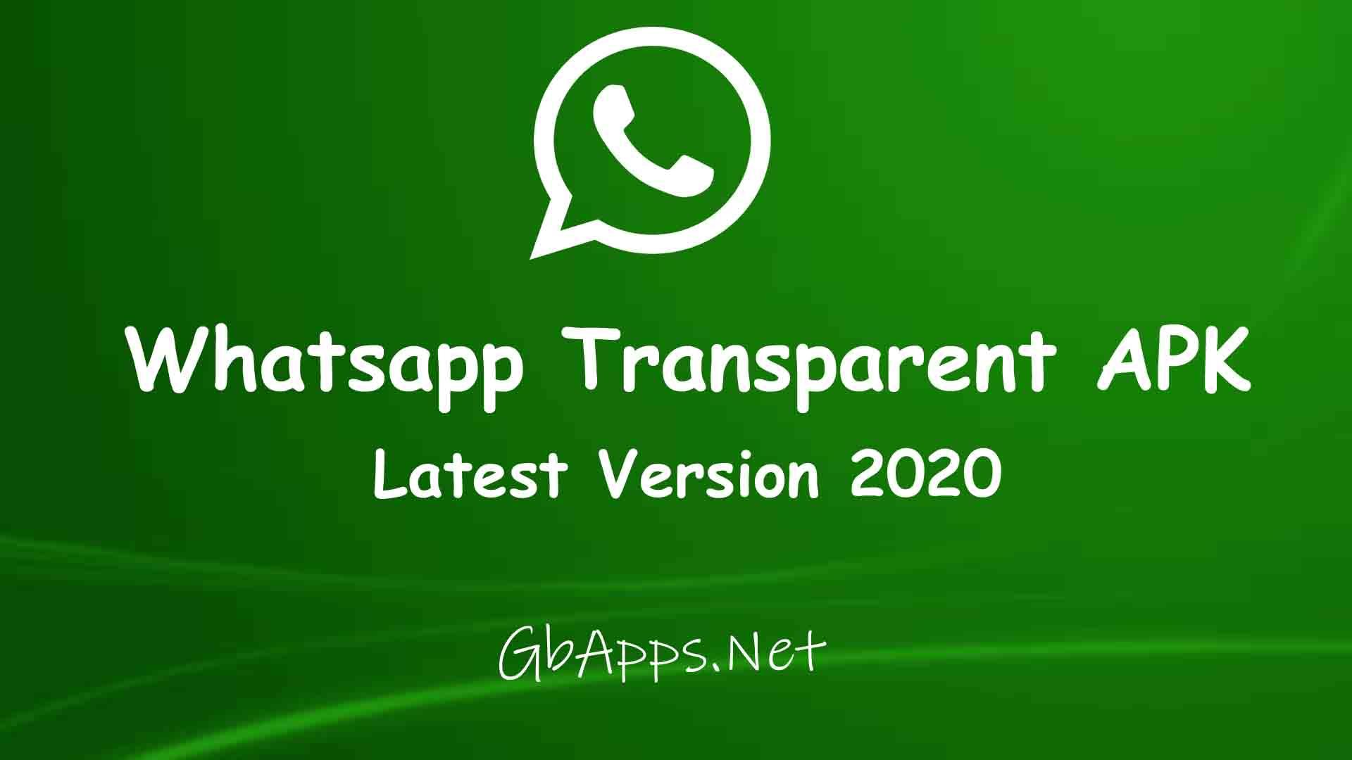 Whatsapp Transparent APK