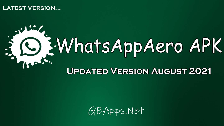 Whatsapp Aero APK